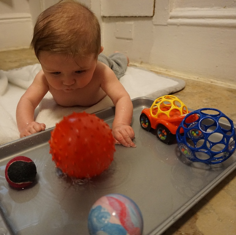 Water Play Fun For 5 Month Old Babies